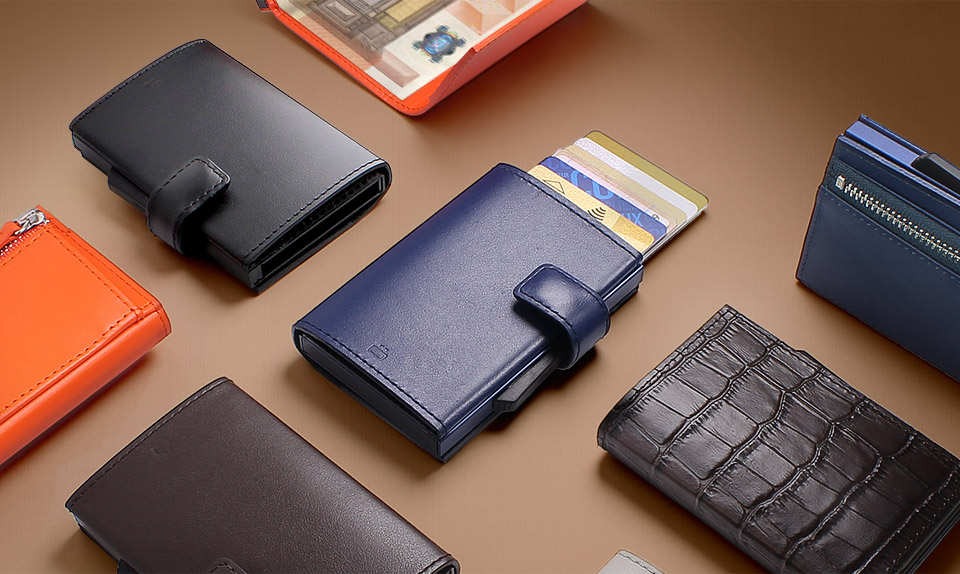 Gon designs aluminium wallets rfid protection reheart Image collections