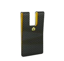Genuine carbon fiber 3C: CARBON CARD CLIP (credit card size)