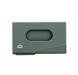 Business card holder ONE TOUCH (business card size)