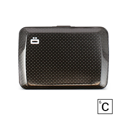 Card Case, Wallet V2 CARBON WALLET (credit card size)