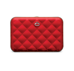 Card case, wallet QUILTED BUTTON WALLET (credit card size)