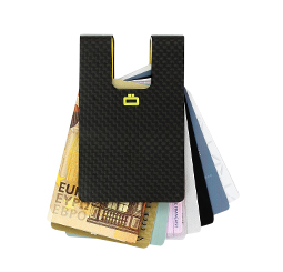 Card case 3C: CARBON CARD CLIP