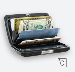 Card Case, Wallet V2 CARBON WALLET