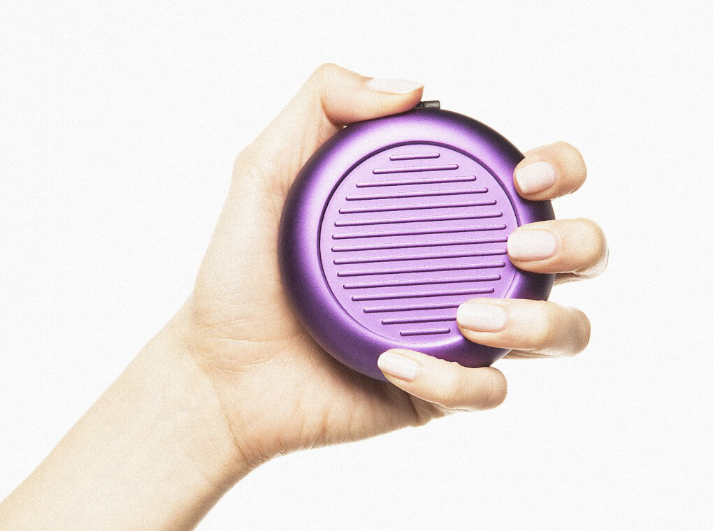Euro Coin Dispenser / Purple