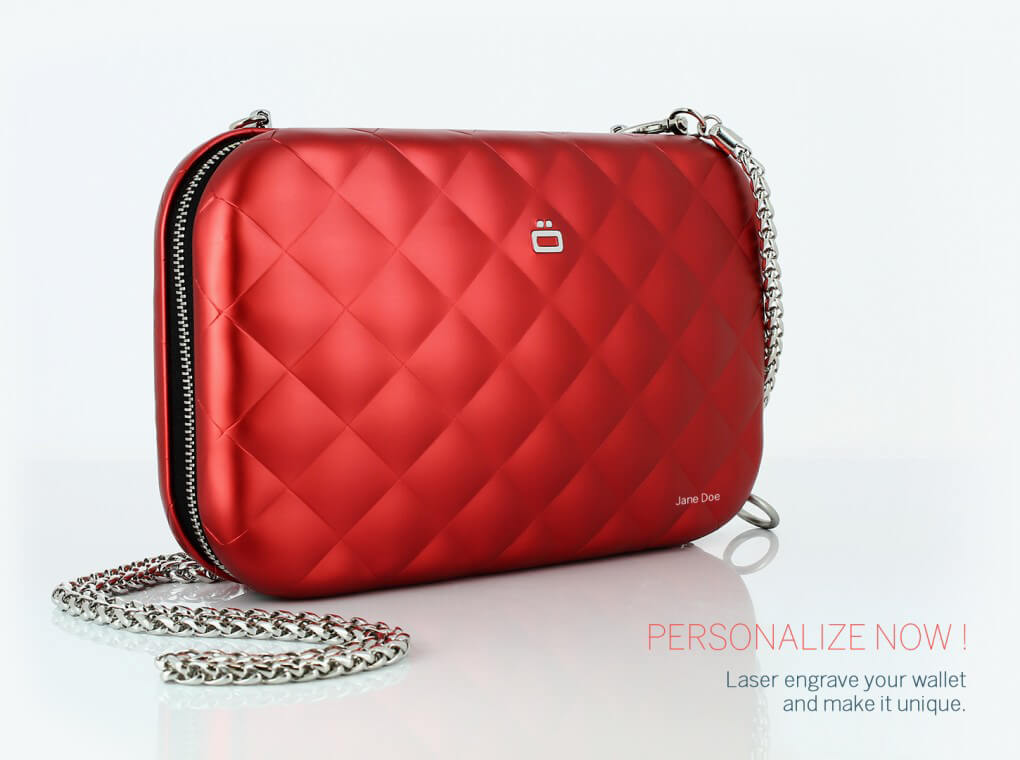Quilted Lady Bag / Red