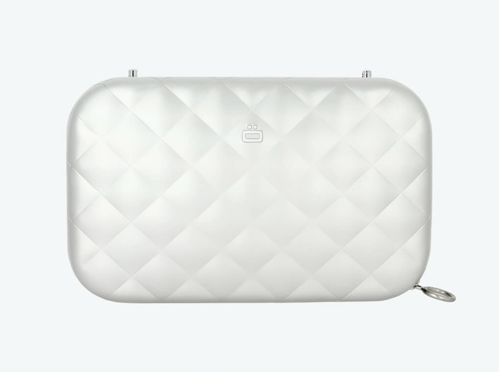 Quilted Lady Bag / Silver