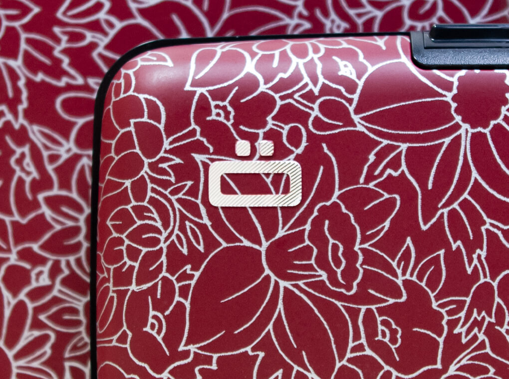 Stockholm Card case / Flowers printed