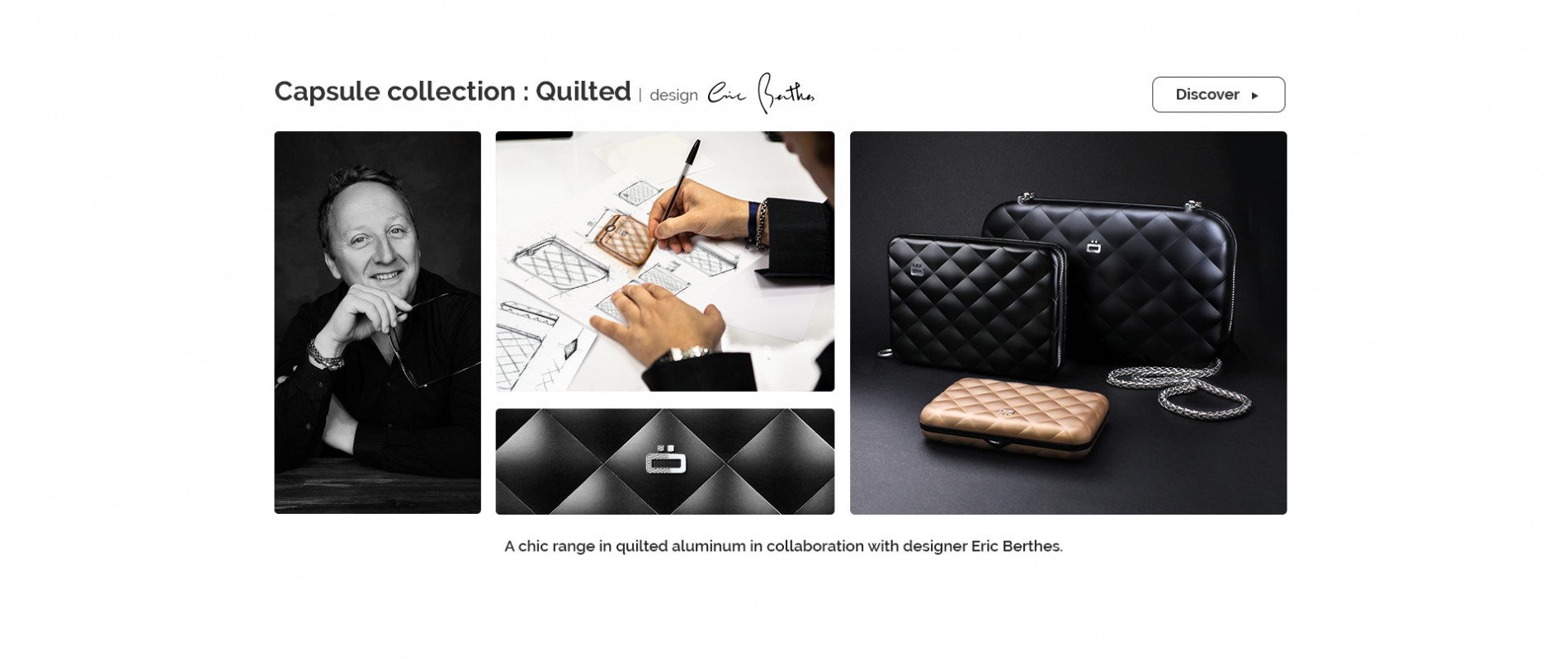 Ögon Designs - Collection Quilted visuel