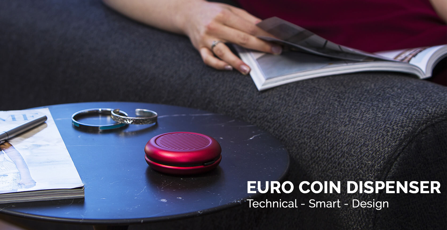 Ögon Designs - <strong>EURO COIN DISPENSER</strong>