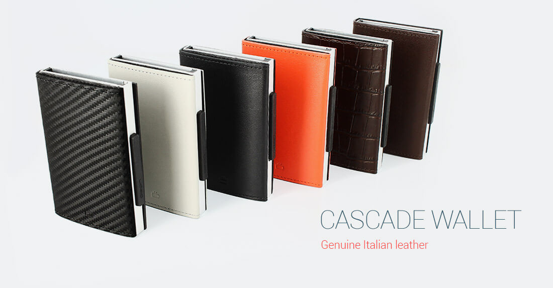 Cascade wallet | Tabletop | Wallet, Leather cover