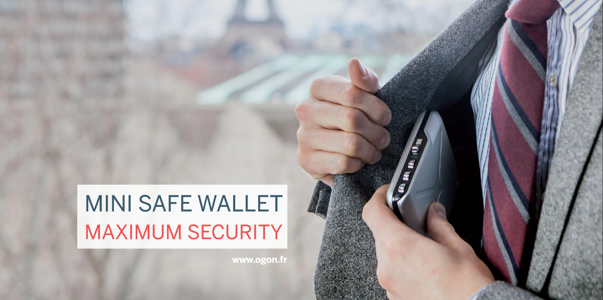 Mini Safe Wallet Maximum Security