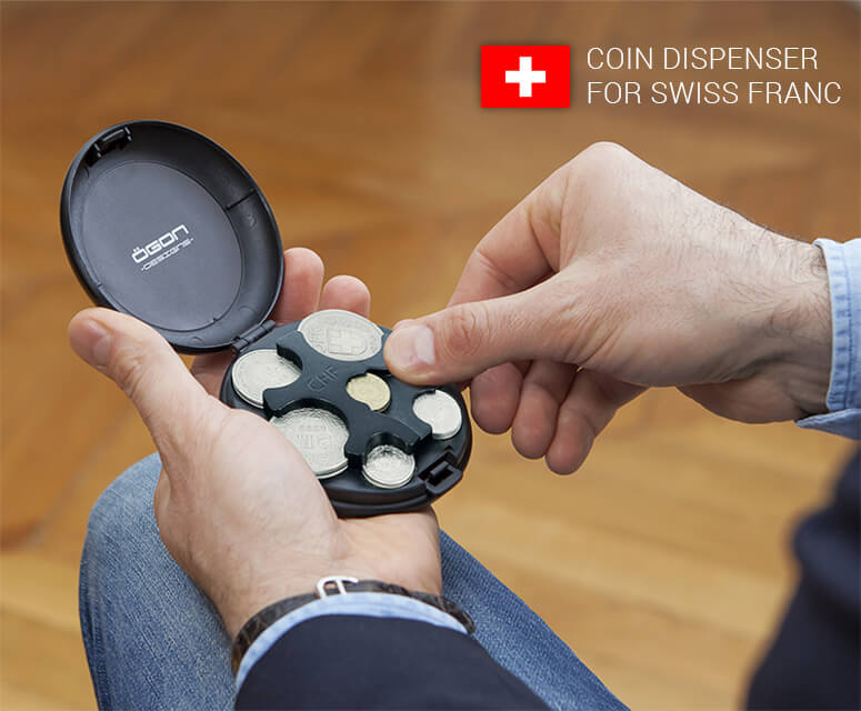 Coin Dispenser for Swiss Franc